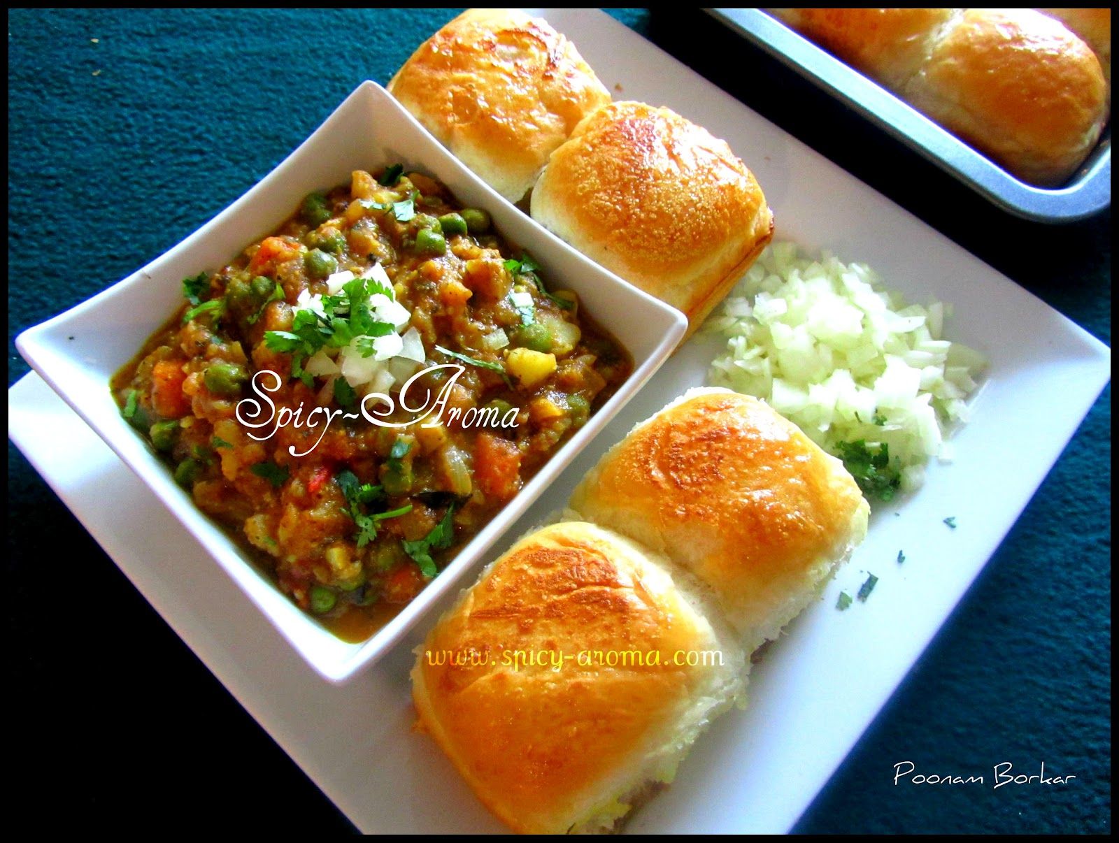 Pav bhaji spicy aroma pav bhaji forumfinder Image collections