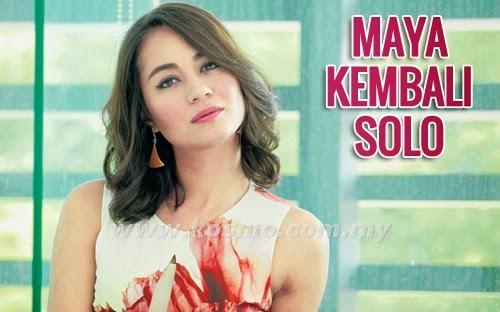 Maya Karin Kembali Solo