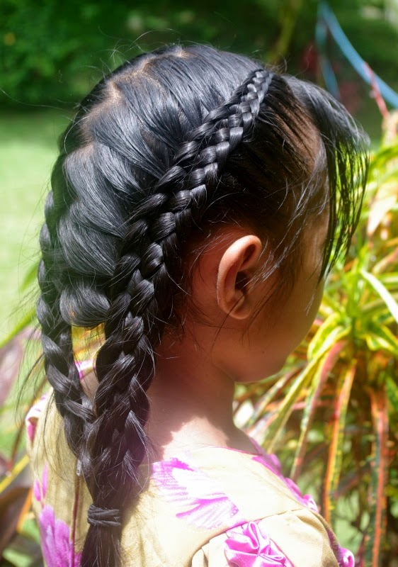Braids hairstyles for super long hair micronesian girl fancy another pretty micronesian girl hairstyle to share with you this one appears to be two 6 strand dutchfrench braids with a zig zag center part so perfect ccuart Images