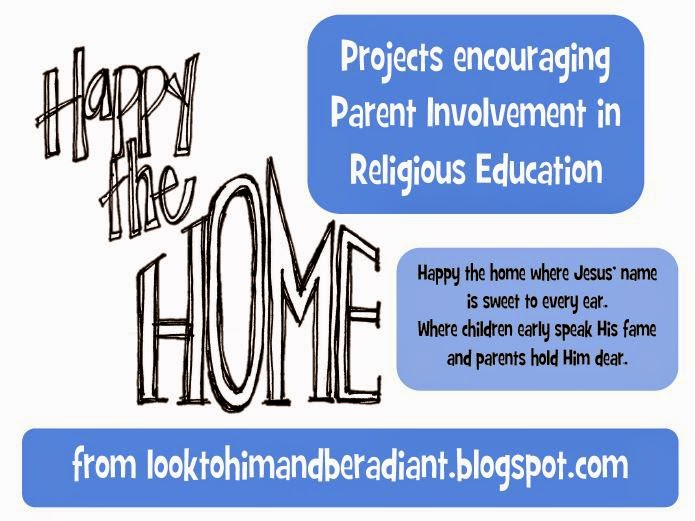 Look To Him And Be Radiant Happy The Home Family Shrines St