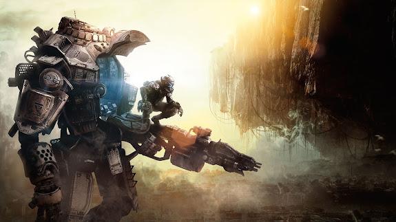 Titanfall Titan and Pilot 7g
