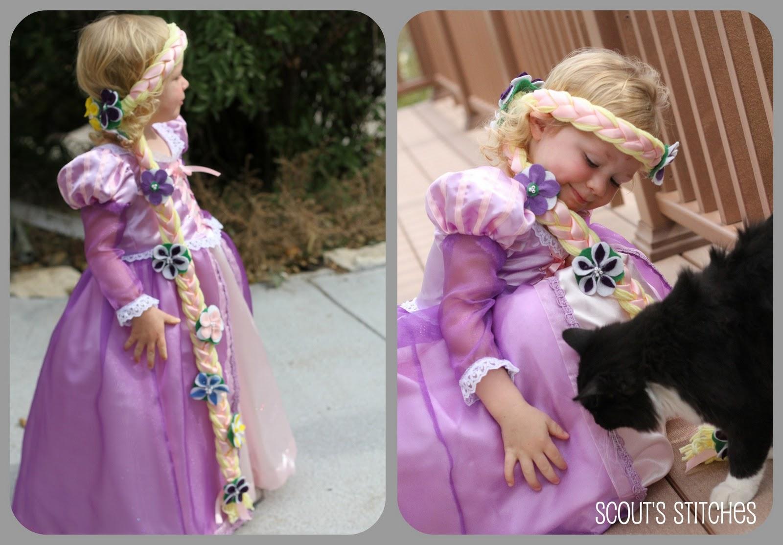 Сделать своими руками куклу рапунцель