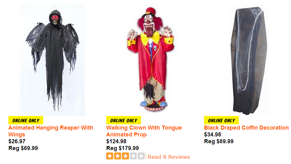 do you want to buy halloween costumes and accessories at spirit halloween with cheap price - Halloween Decoration Sale