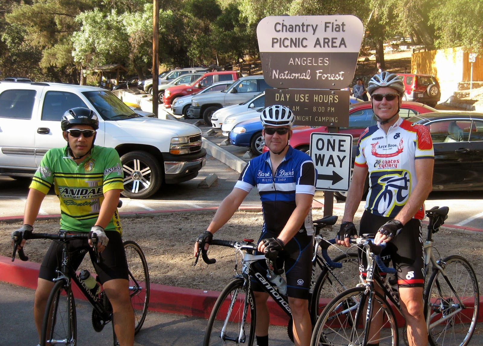 bicyclefriends: san dimas to chantry flats to the rose bowl