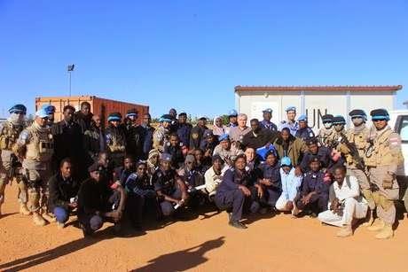 Satgas FPU Polri Latih Polisi Sudan Agar Bisa Ikut Jaga Perdamaian