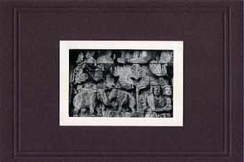"""Gajah & Pohon"" (12,5 X 9 Cm)"