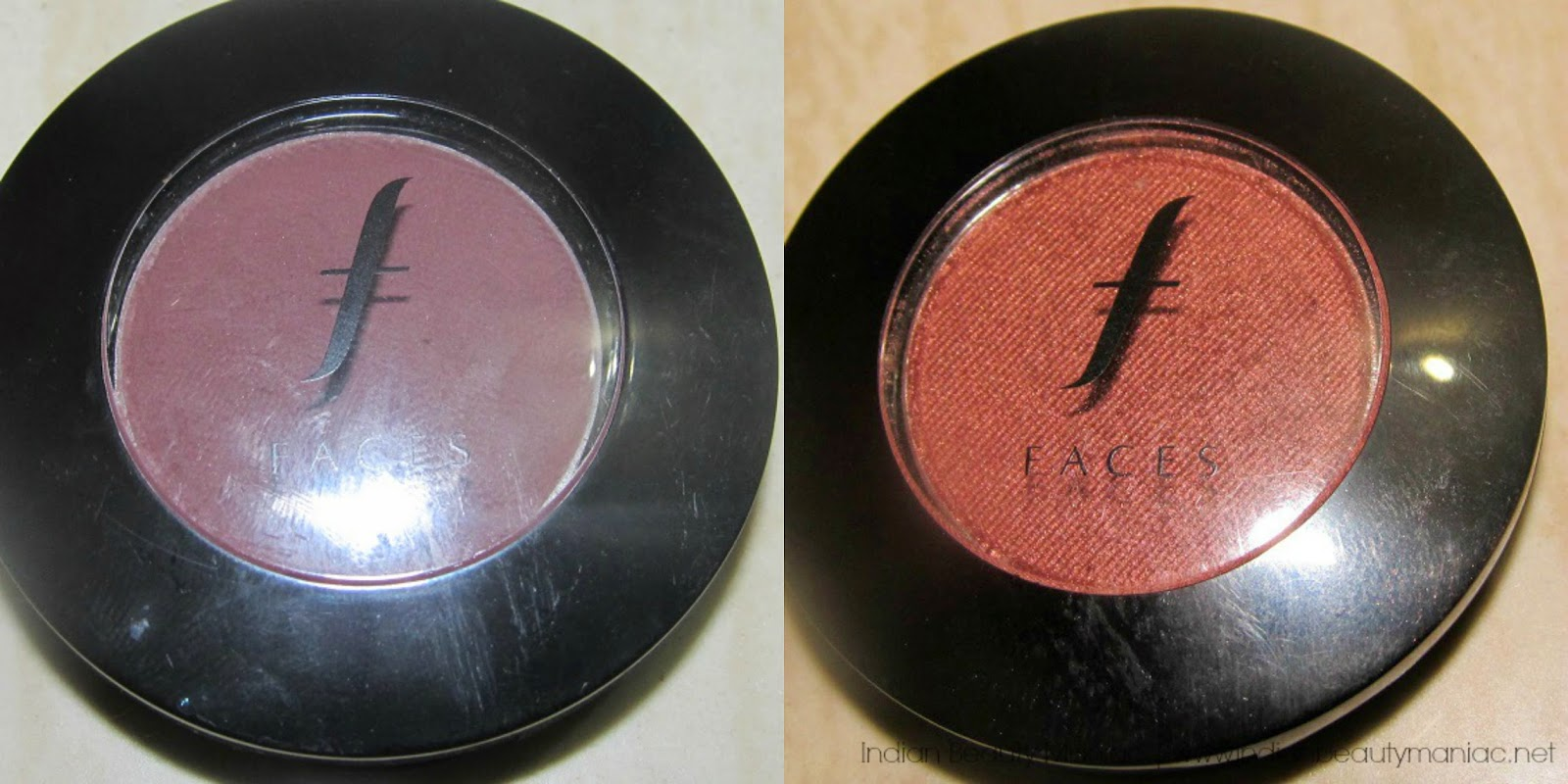 Faces Canada Eyeshadow Singles FES232 and FES066
