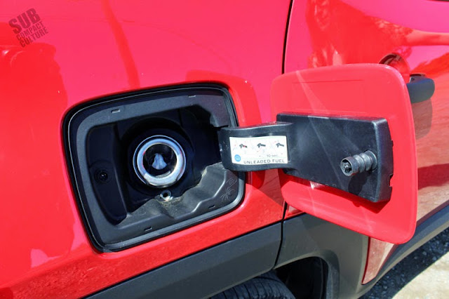 Jeep Renegade Gas Door