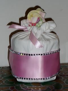 torta di pannolini, regalo neonati