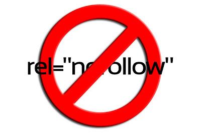 membuat semua link menjadi nofollow