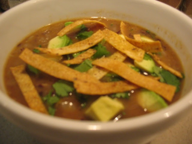 Cook In / Dine Out: Black Bean-Butternut Squash Soup