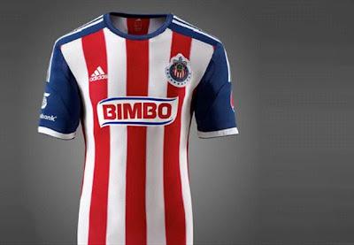 El nuevo uniforme de las Chivas 2013