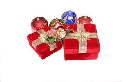 unusual Christmas gifts - Cosmetics Gift bag will make her happy