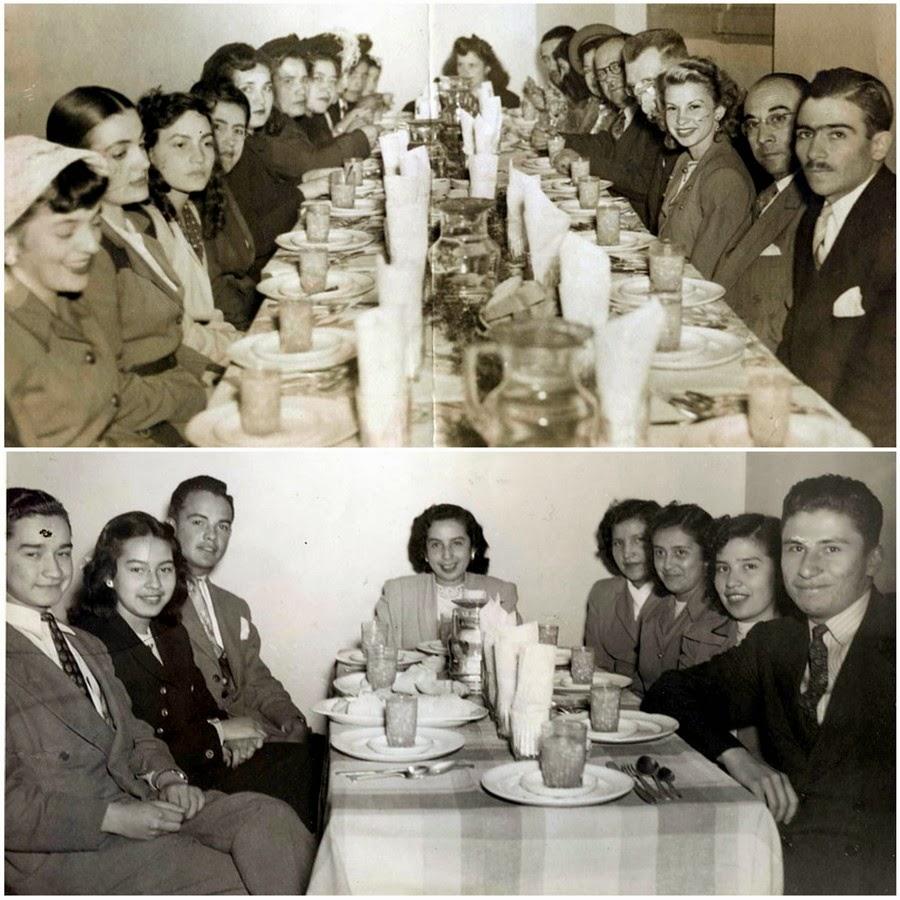Restaurante Témel, Bogotá 10 de febrero 1951.