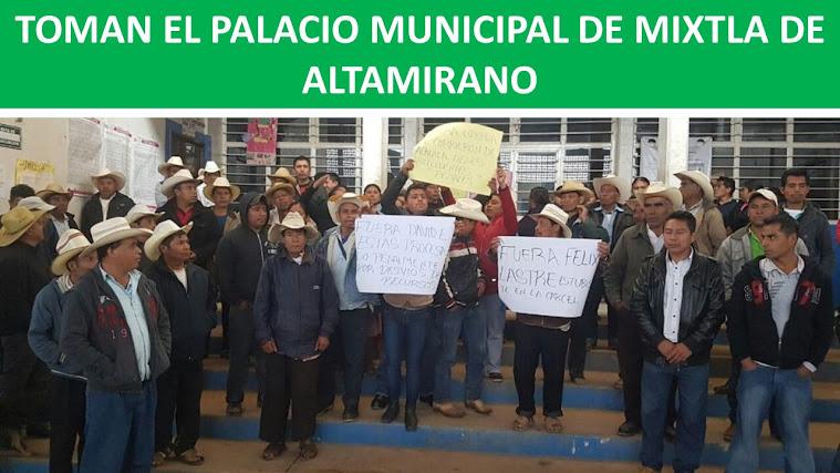 TOMAN EL PALACIO MUNICIPAL DE MIXTLA
