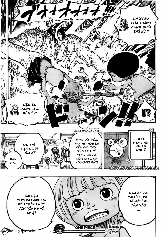 One Piece Chap 682 - truyen One Piece online