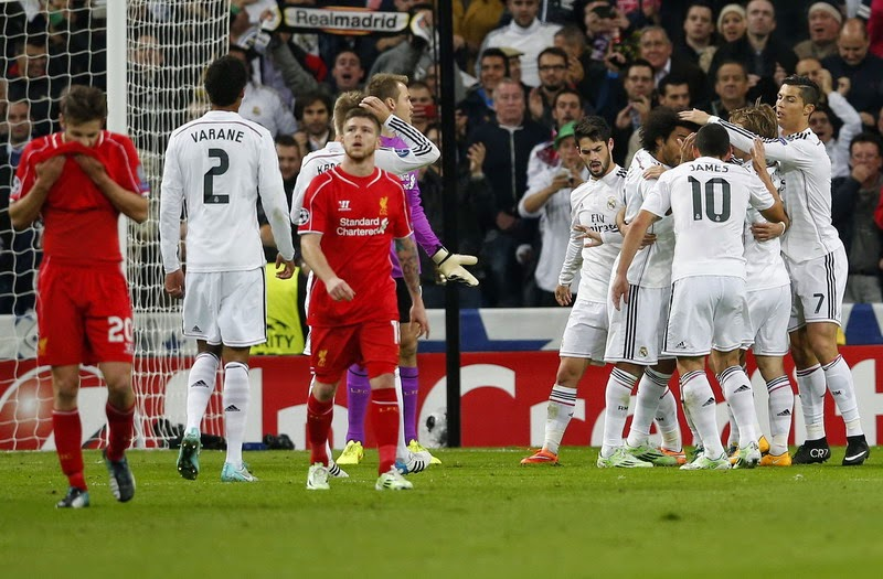 Liga Champions : Real Madrid vs Liverpool 1-0