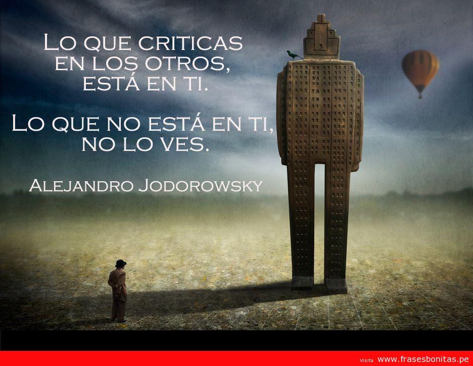 Frase de Alejandro Jodorowsky