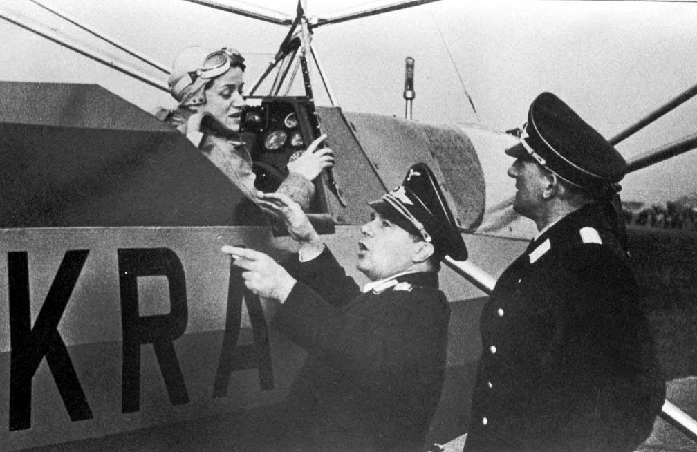 Mujeres pilotos de la segunda guerra mundial