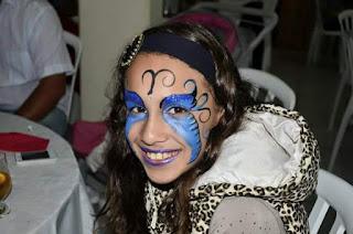 Pintura Facial de Borboleta