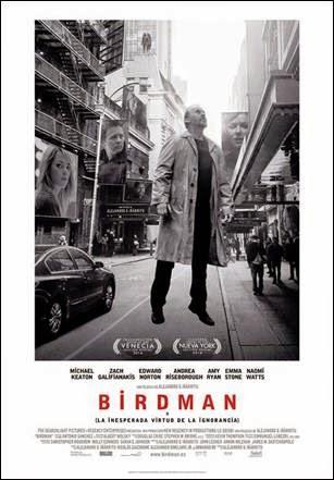BIRDMAN o la inesperada virtud de la ignorancia - Michael Keaton