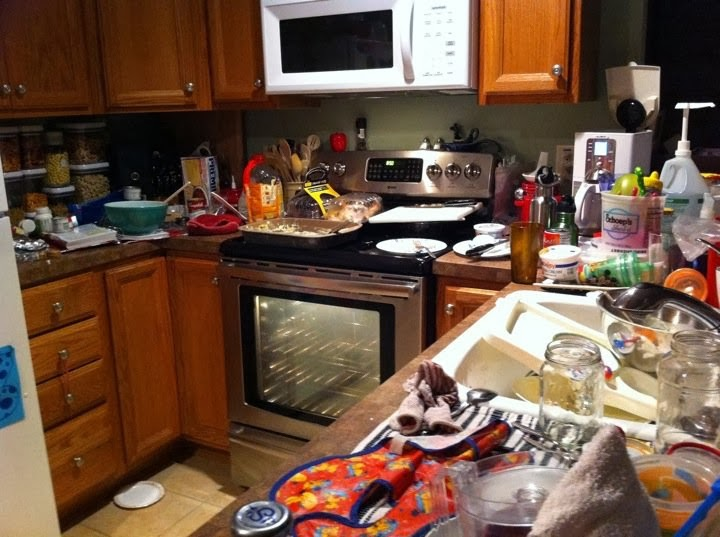 Delicious Agony: How To Keep No Hurry Dirty Kitchen