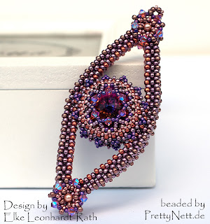 "Pendant ""1001 Nacht"" beaded by PrettyNett.de"