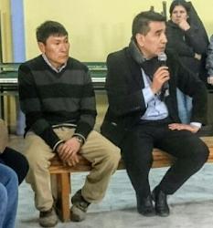 Juan Martínez dijo que Rioseco salio bien parado en Piedra del Aguila