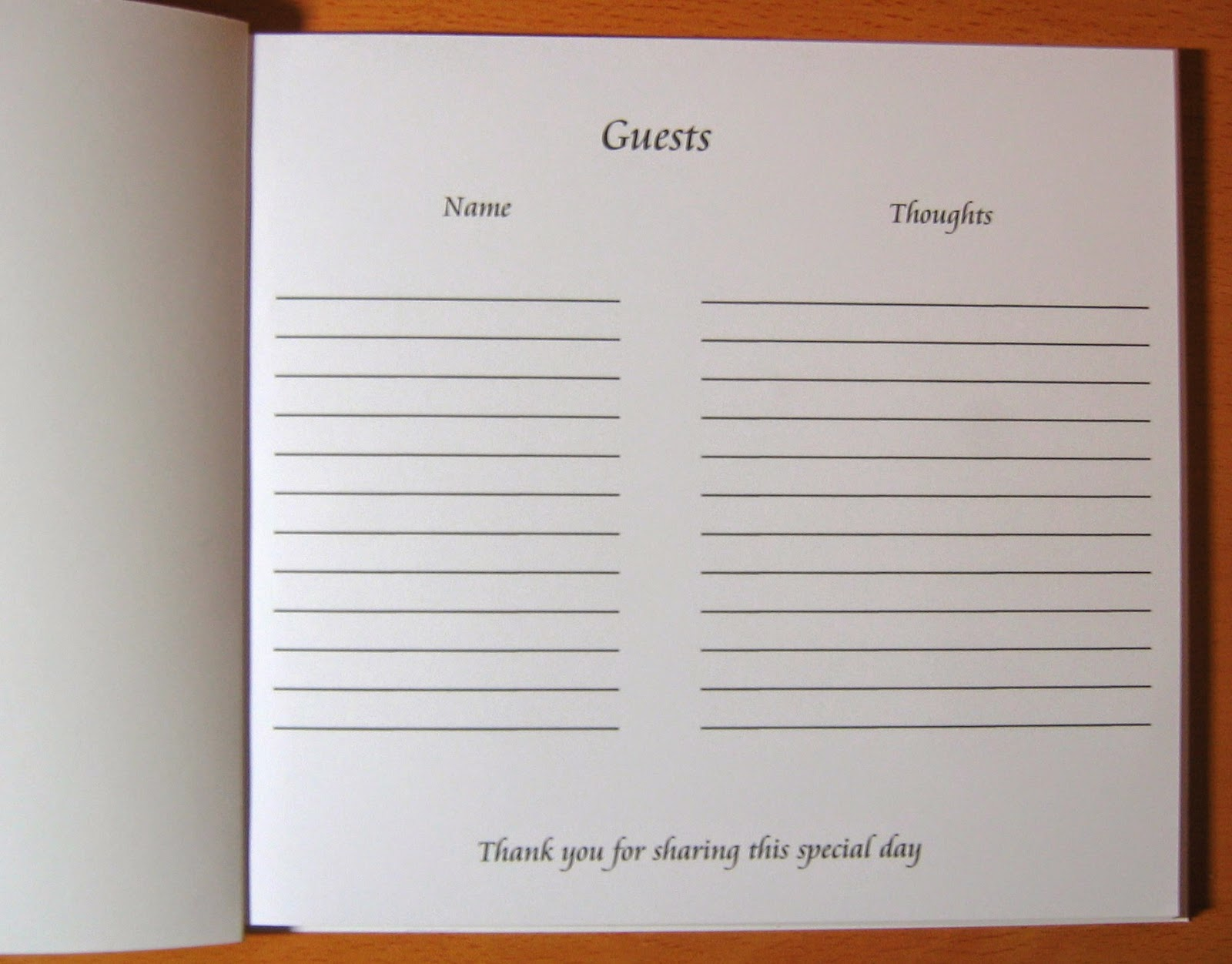 Doc Sample Guest Book Template Guest Book Template Best for – Guest Book Template
