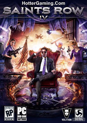 Free Download Saints Row 4 PC Game Cover Photo