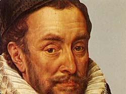 Willem van Oranje vermoord in 1584, waarna de 1e Republiek Nederland ontstond in 1588