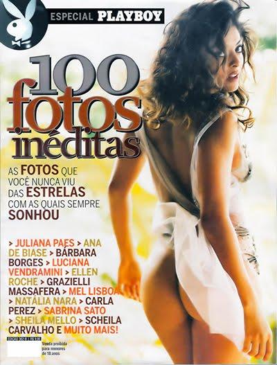 Revista Playboy Especial 100 Fotos Inéditas