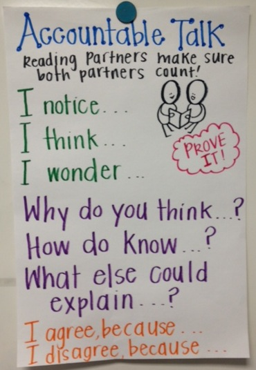 ... chart to remind the kiddos about some of the accountable talk phrases