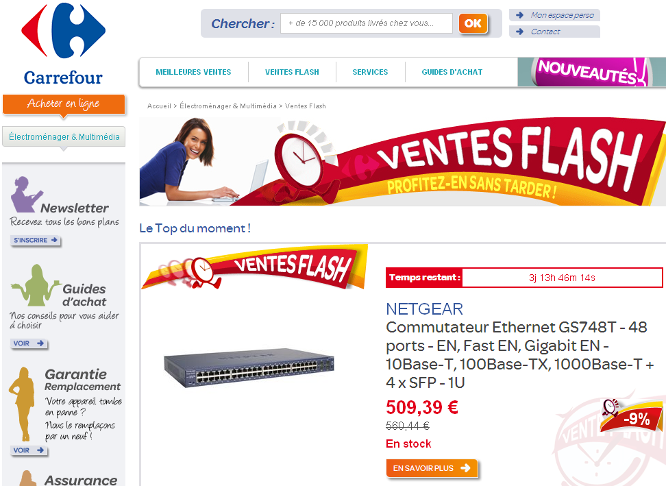 Sellermania 39 Blog Carrefour Online Vend Du Pixmania En Plus Cher