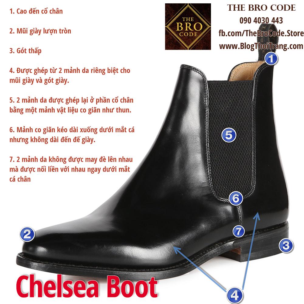 7 đặc điểm nhận dạng của một đôi Chelsea Boot