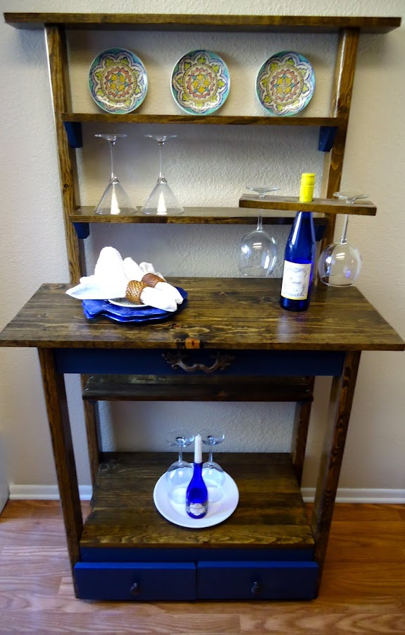 Accent Table with Drawers - SOLD