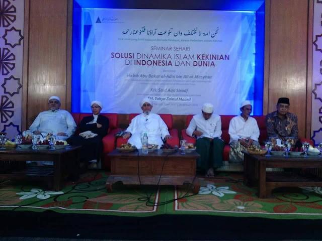 Klarifikasi KH Said Aqil Siradj pada Seminar di Sidogiri