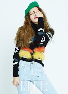 Red Velvet Elle November 2015
