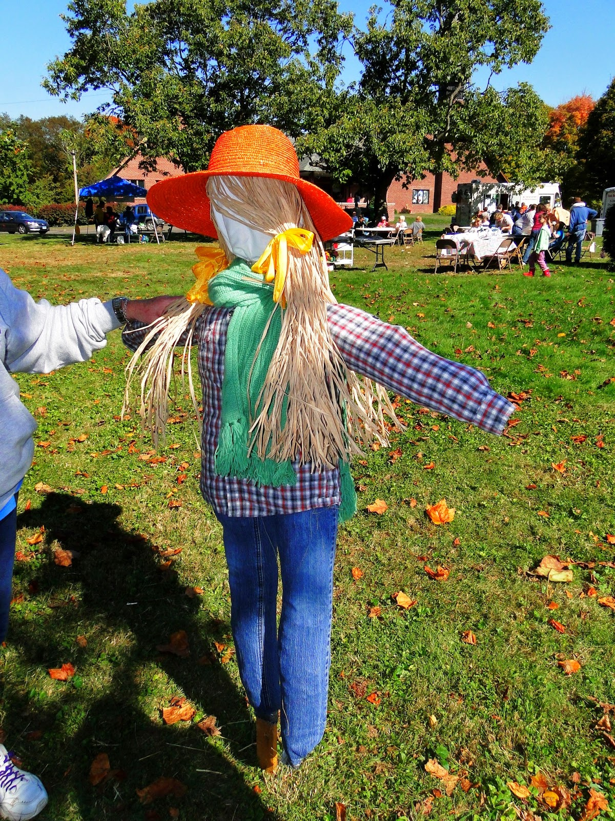 New England Fall Events - Scarecrow Festival Wallingford CT