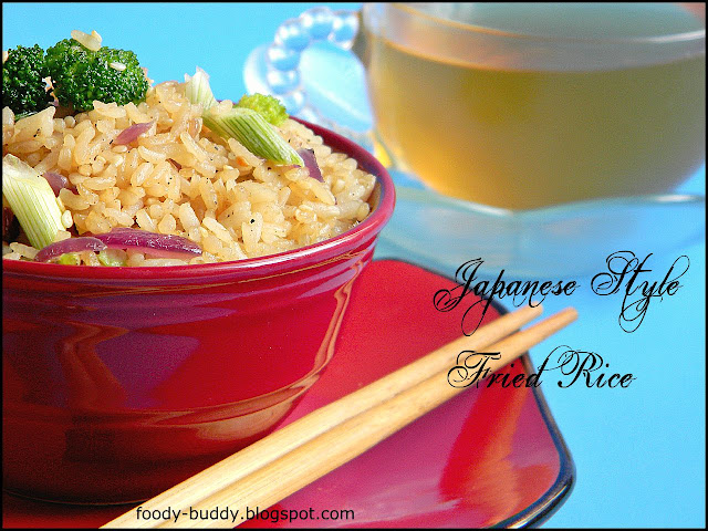 how to make japanese style fried rice