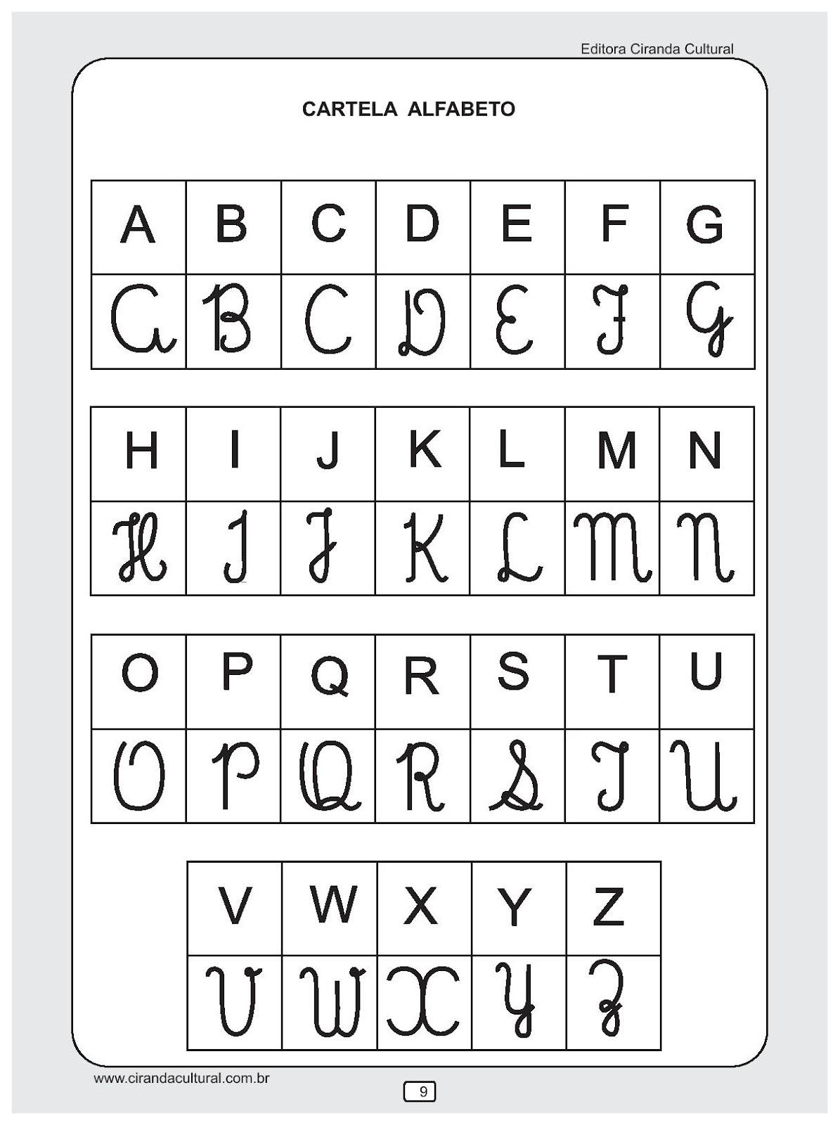 Fabuloso ESPAÇO EDUCAR: Atividades de Alfabetização excelentes! YW72