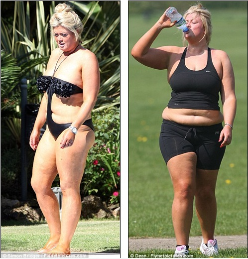 b03bd92960 Half the woman she was  Gemma said in a recent interview that her new  figure makes her feel sexier than ever