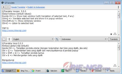 QTranslate 5.5.3 Terbaru Gratis