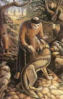 Francis of Assisi and the wolf