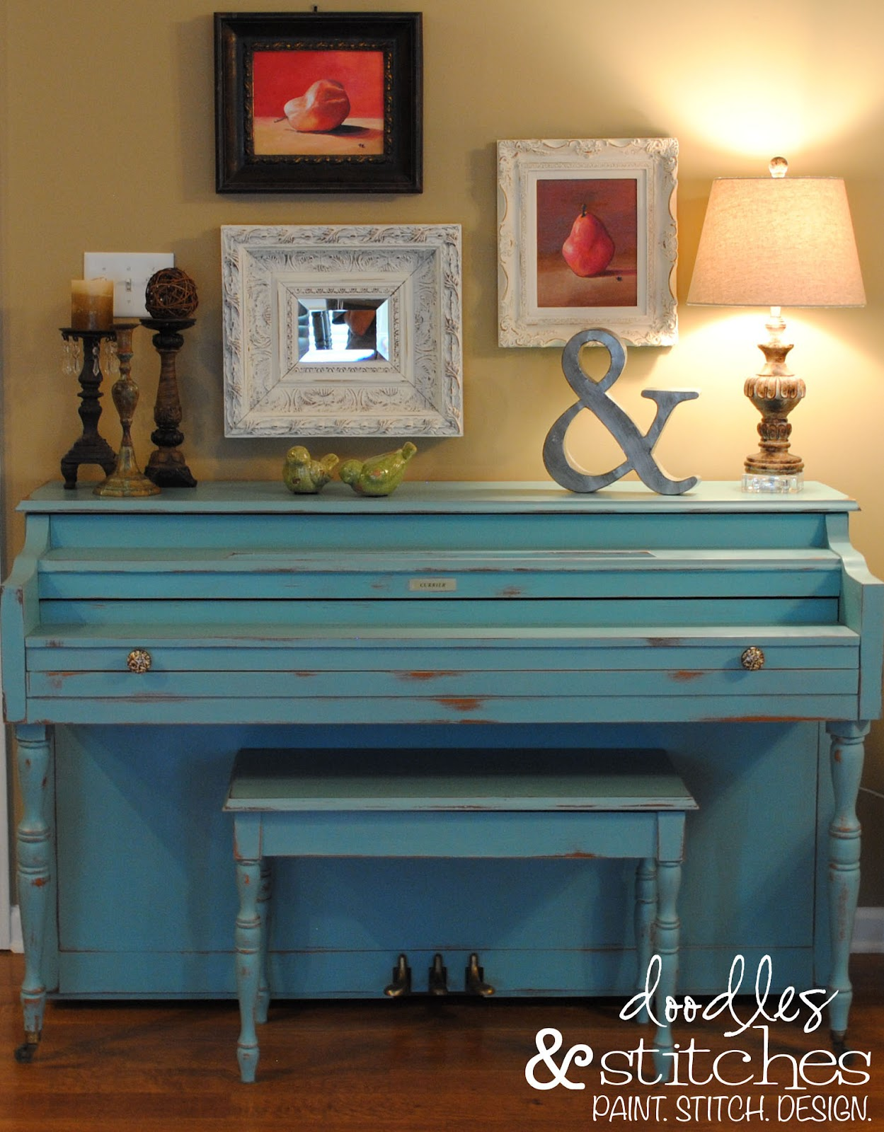 Shabby chic furniture on the cheap make your own annie - Pintura ala tiza leroy merlin colores ...