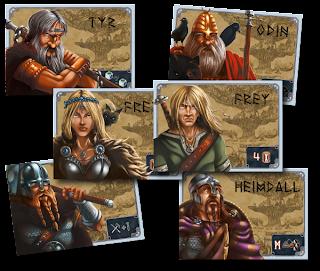 Personajes de Yggdrasil