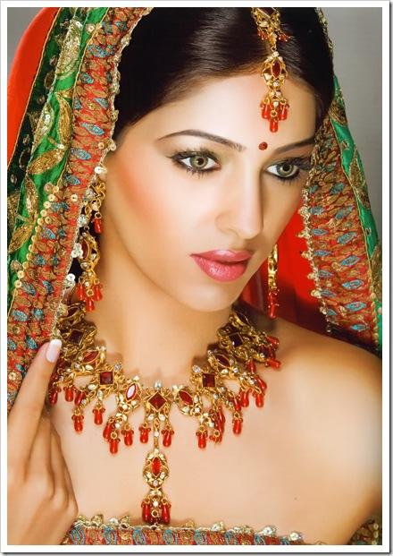 MEHANDI DESIGNS WORLD: Indian Bridal Makeup Looks ...