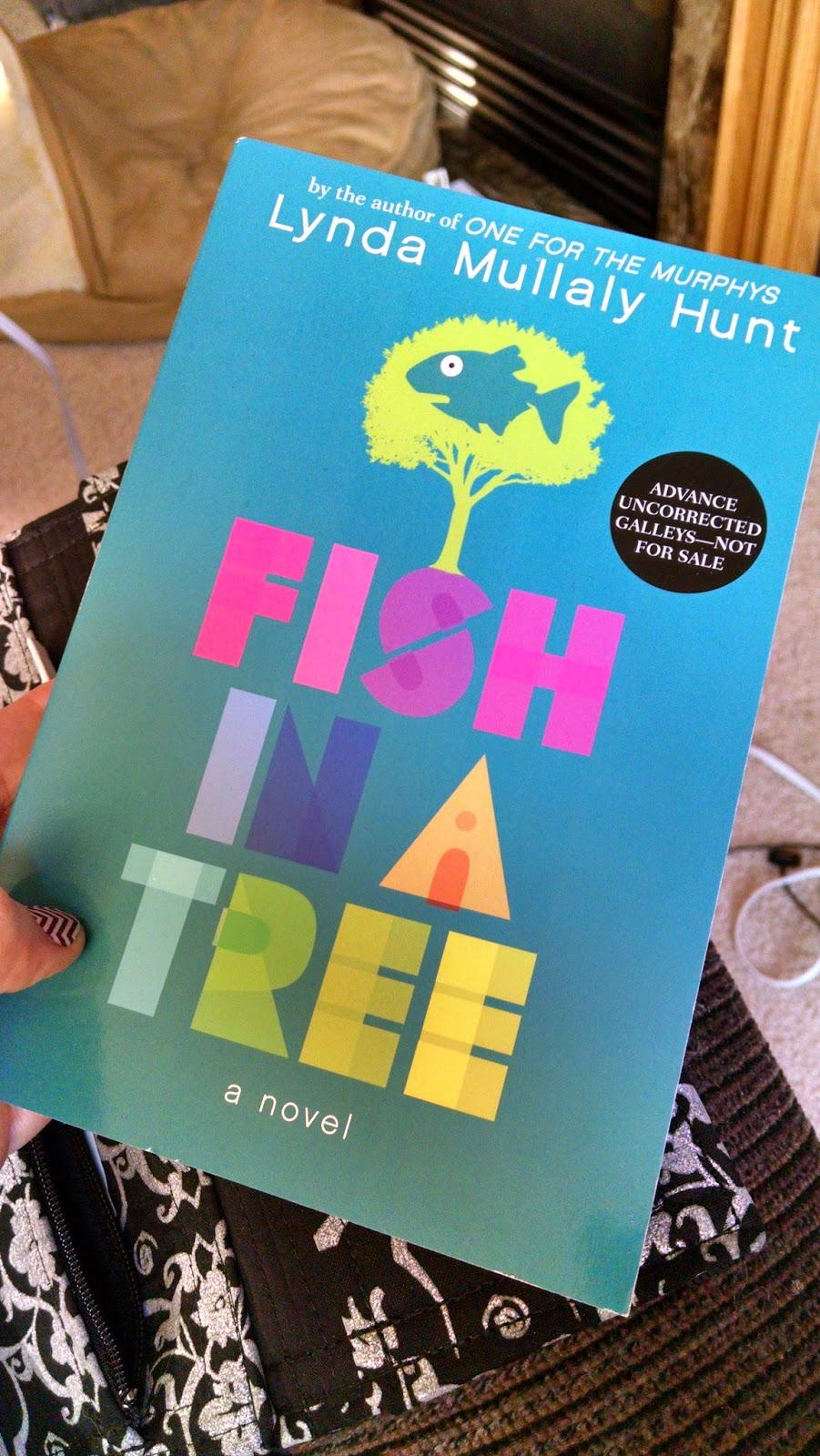 The o w l snap shot monday fish in a tree for Fish in a tree by lynda mullaly hunt