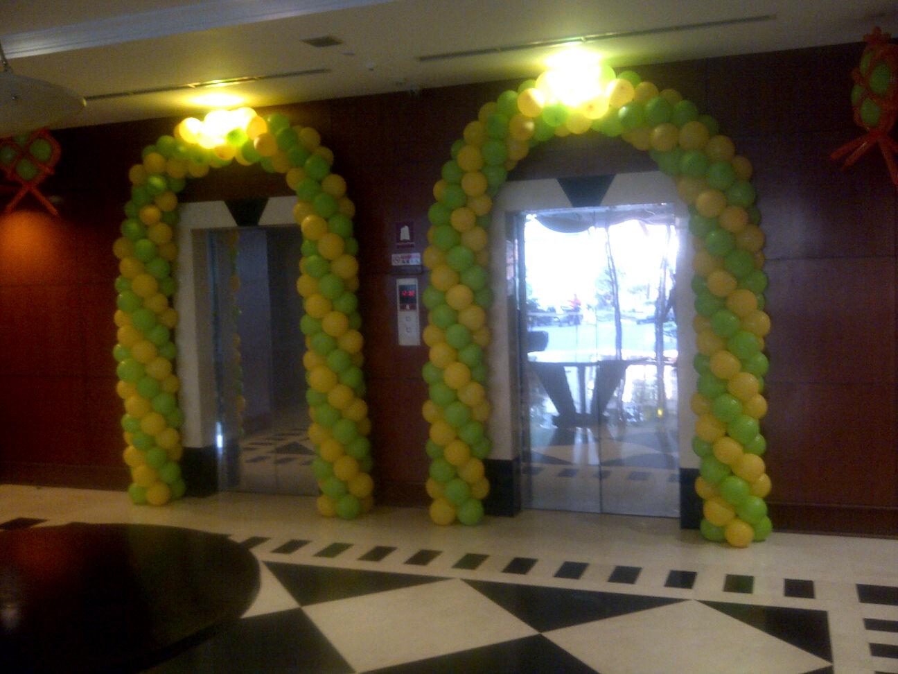 Balon promosi balon dekorasi balon dekorasi lebaran for Dekorasi lebaran hotel