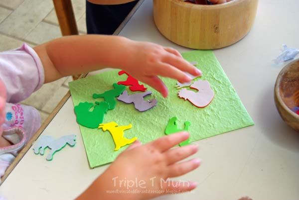 Farm Sticker Art Activity